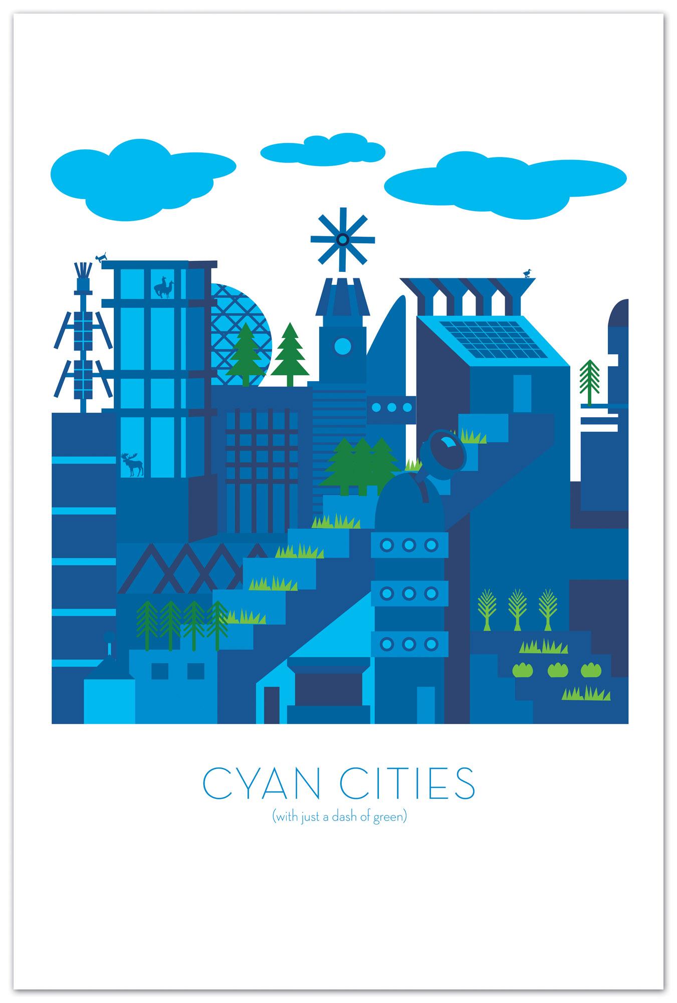 Cyan Cities